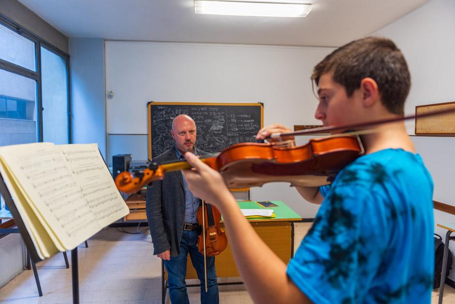 Lezioni violino liceo musicale Roma Eur