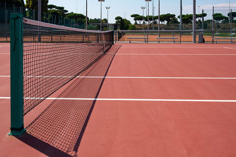 Campo tennis Liceo Sportivo Seraphicum Roma