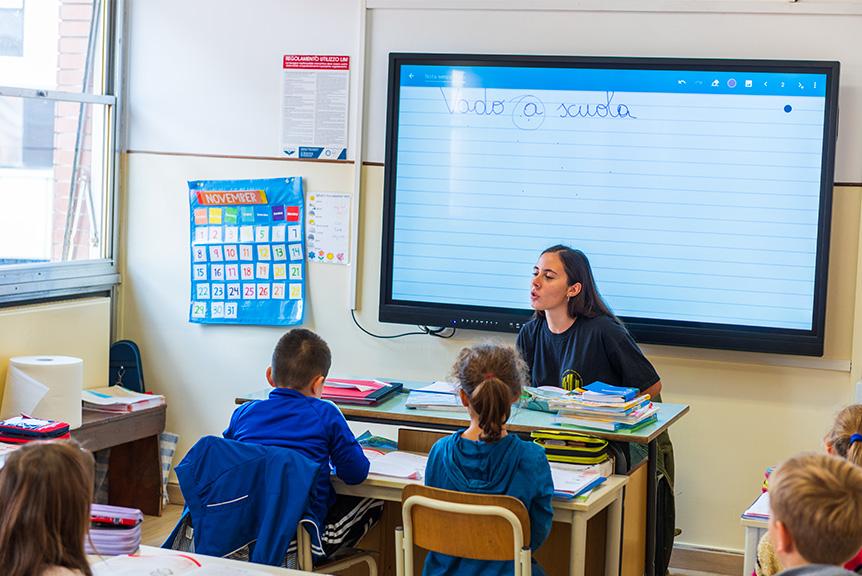 Classe Scuola Primaria Bilingue