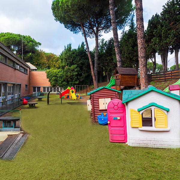 Giardino Scuola Infanzia 3-6 anni Roma sud Eur