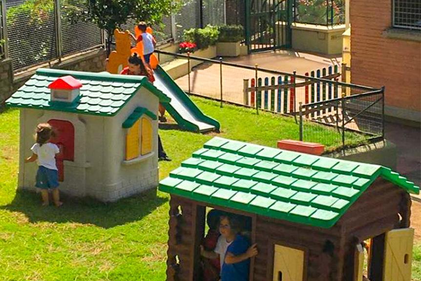 Giochi in giardino scuola materna seraphicum