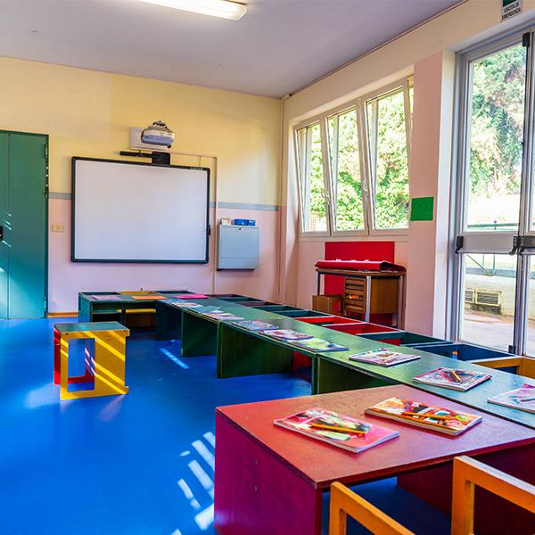 La stanza blu scuola infanzia 3-6 anni seraphicum roma