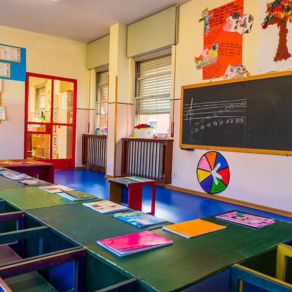 La stanza blu scuola materna roma sud eur