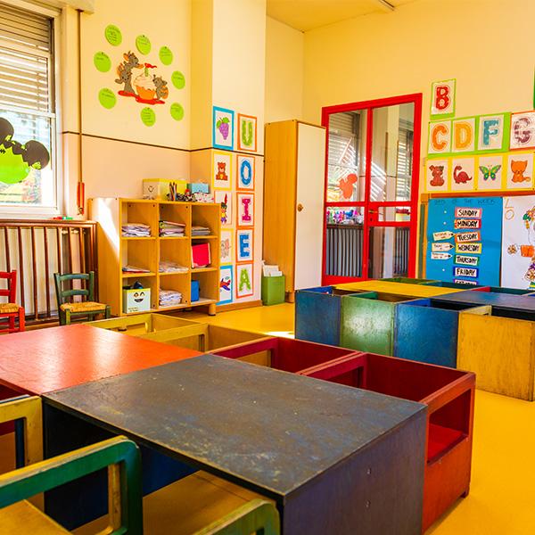 La stanza yellow scuola infanzia 3-6 anni roma sud eur