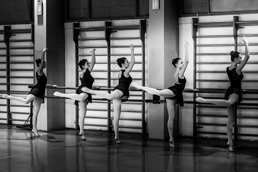 Lezione Danza Classica Liceo Corautico Musicale Roma Eur