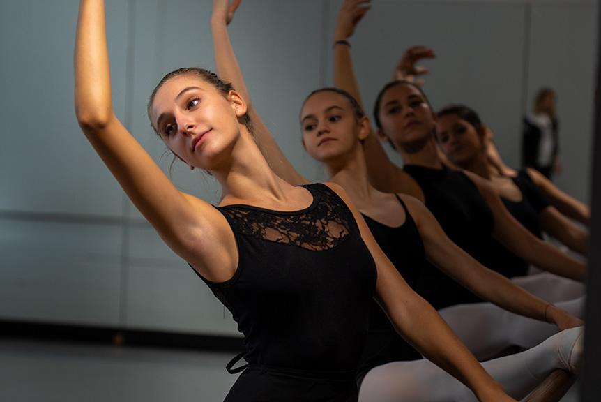 Lezione Danza Classica Liceo Corautico Musicale Seraphicum
