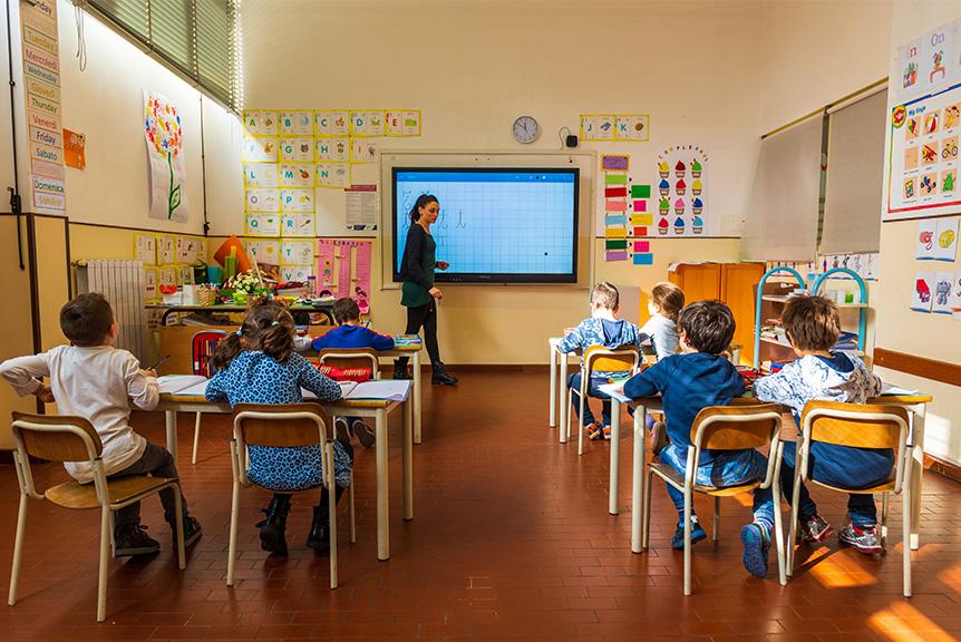 Lezione Scuola Primaria Bilingue