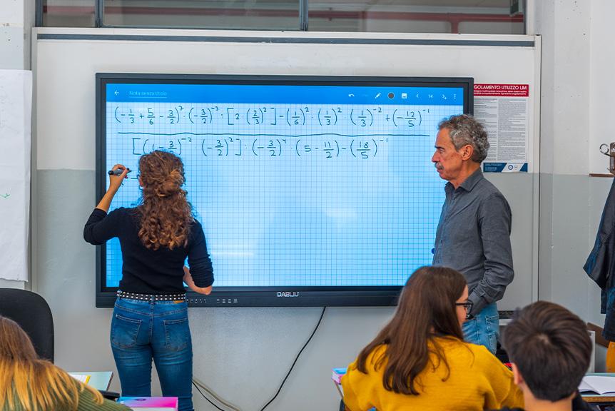 Lezione Scuola Secondaria di Primo grado Roma Eur
