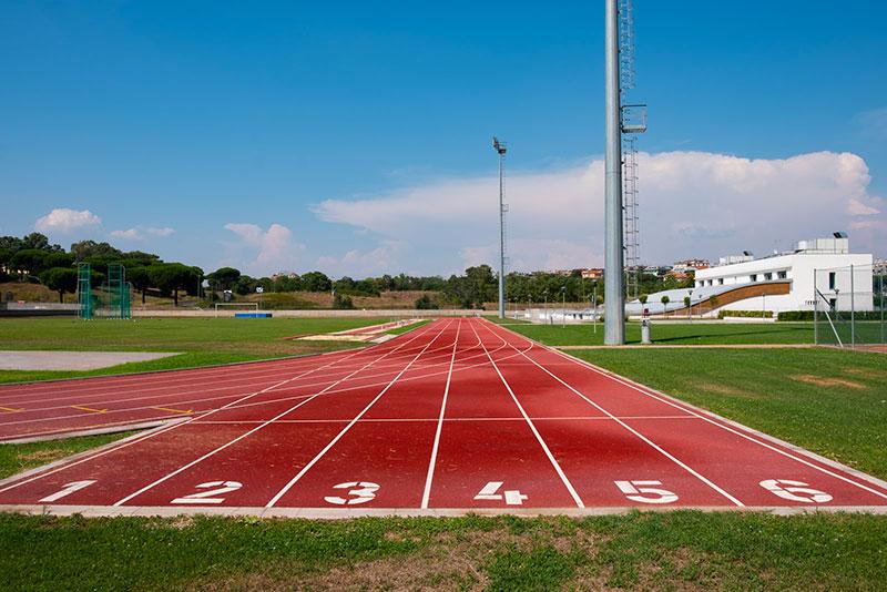 Pista di atlatica Liceo Sportivo Seraphicum