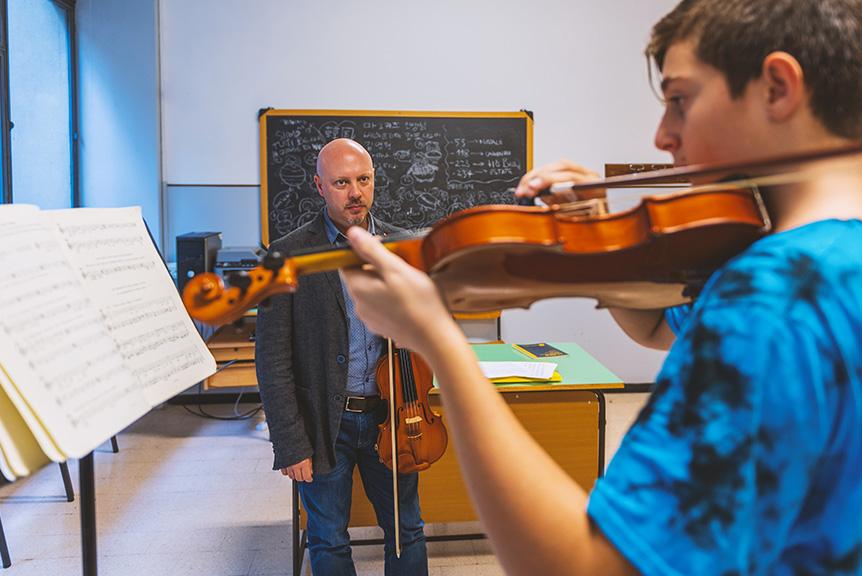 Violino Liceo Coreutico Musicale Paritario Eur Roma